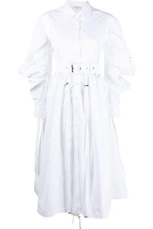 Alexander McQueen Poplin parka shirtdress