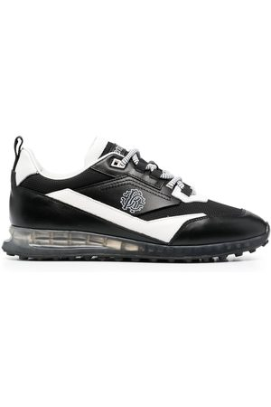 Roberto Cavalli Two-tone lace-up sneakers