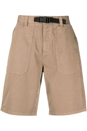 sun68 Knee-length buckle-detail shorts - Neutrals