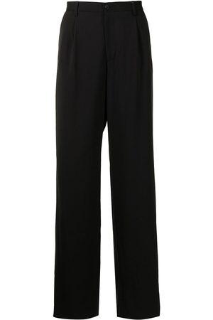 Emporio Armani Tailored wide-leg trousers