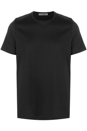 corneliani Round neck short-sleeved T-shirt