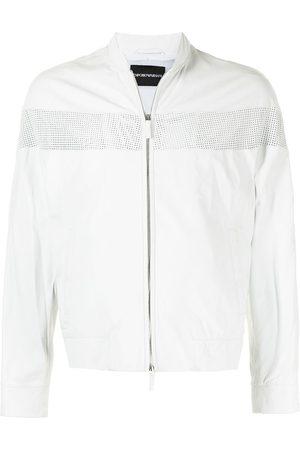 Emporio Armani Perforated-panel jacket