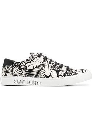 Saint Laurent Malibu foliage-print sneakers