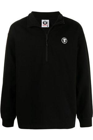 AAPE BY A BATHING APE Logo-patch sweatshirt