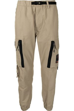 AAPE BY A BATHING APE Logo-patch cargo trousers