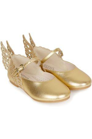 SOPHIA WEBSTER Butterfly-appliqué ballerinas