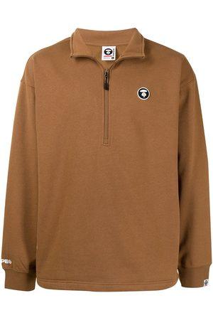 AAPE BY A BATHING APE Men Sweatshirts - Logo-patch sweatshirt