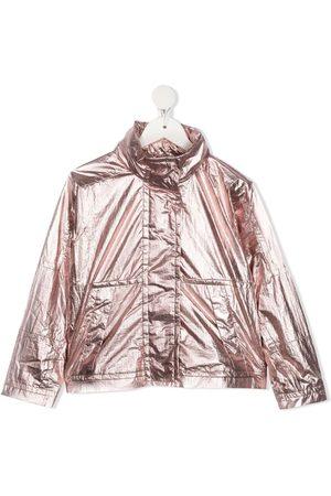 Moncler Boys Bomber Jackets - Funnel neck jacket