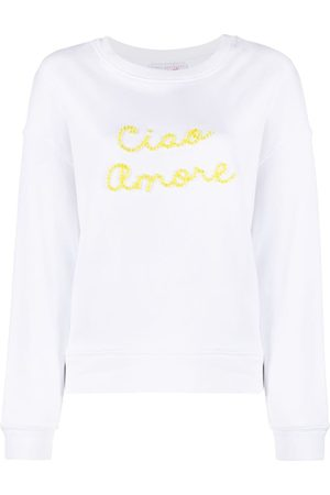 GIADA BENINCASA Ciao Amore embroidered sweatshirt