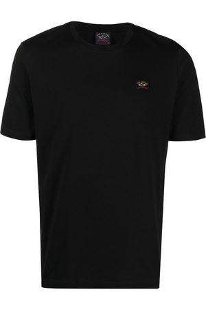 Paul & Shark Logo-patch cotton T-shirt