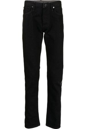 Emporio Armani Dark-wash straight leg jeans