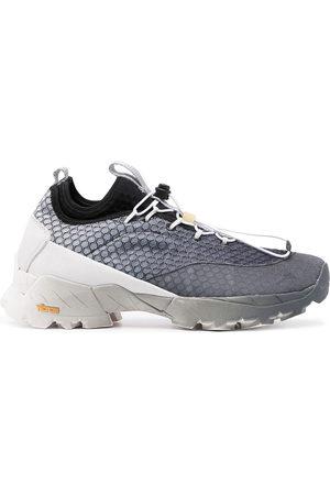 ROA Gradient-effect mesh sneakers - Grey