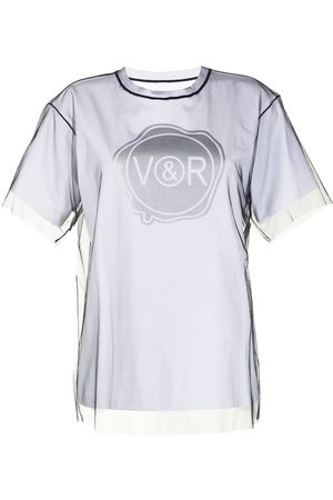 Viktor & Rolf Layered tulle and jersey T-shirt