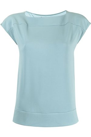 Emporio Armani Wide-neck sleeveless top