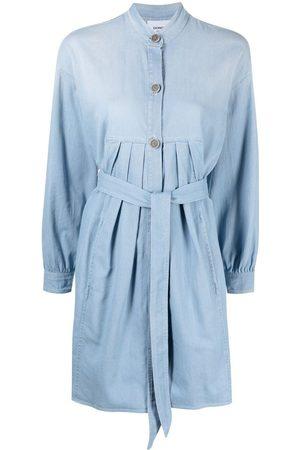 Dondup Women Casual Dresses - Denim shirt dress