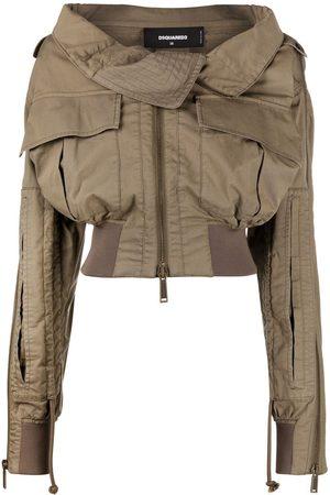 Dsquared2 Aviator-style bomber jacket