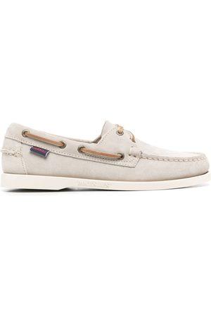 SEBAGO Docksides leather boat shoes - Neutrals