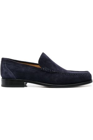 Dorya Lucas square-toe loafers