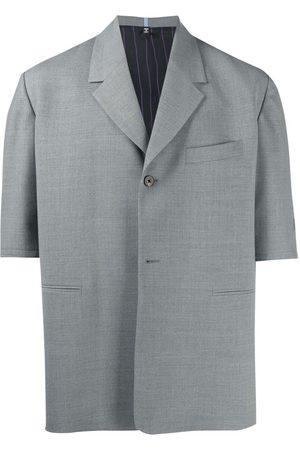 McQ Blazer-style short-sleeve shirt - Grey