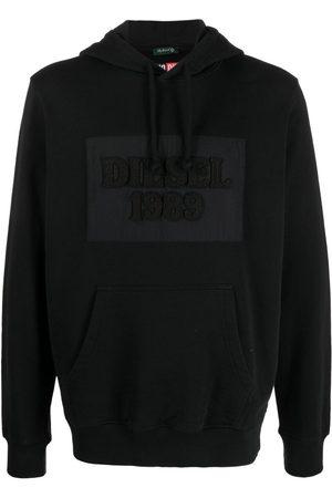 Diesel Logo-patch hoodie