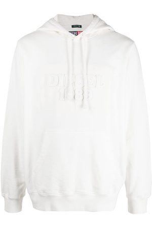 Diesel Applique logo pullover hoodie