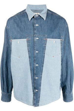 Diesel Contrast denim shirt