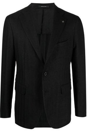 TAGLIATORE Single-breasted pinstripe blazer