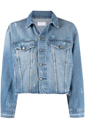 Boyish Jeans Distressed denim jacket