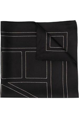 Totême Logo-print scarf