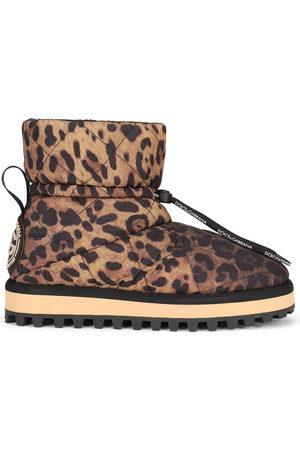 Dolce & Gabbana Leopard-print boots
