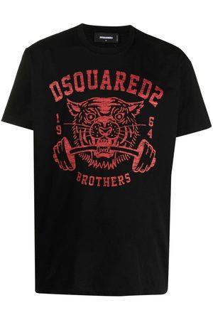 Dsquared2 Men T-shirts - Tiger print T-shirt