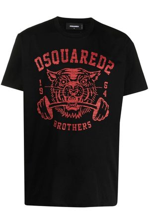 Dsquared2 Tiger print T-shirt
