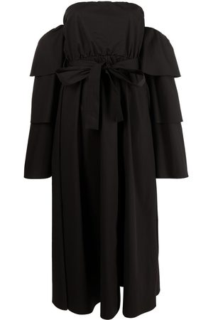 RED Valentino The Tag. tiered-sleeve dress