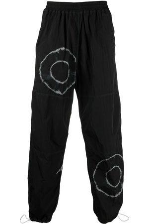 ARIES Tie-dye print straight-leg trousers