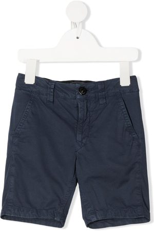 Stone Island Mid-rise chino shorts