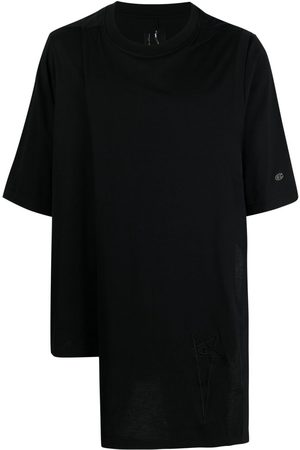 Rick Owens Asymmetric short-sleeved T-shirt