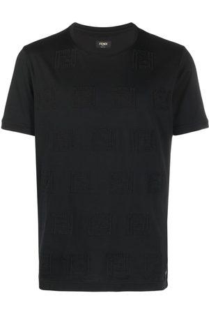 Fendi Monogram-pattern short-sleeve T-shirt