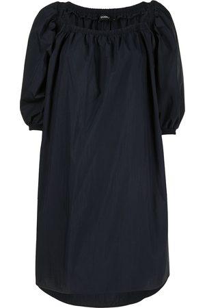GOEN.J Off-shoulder puff-sleeve dress
