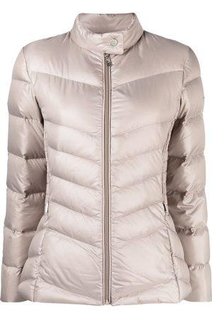 LAUREN RALPH LAUREN Zip-up padded down jacket - Neutrals