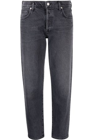 Citizens of Humanity Women Slim - Emerson cropped slim-fit jeans - Grey