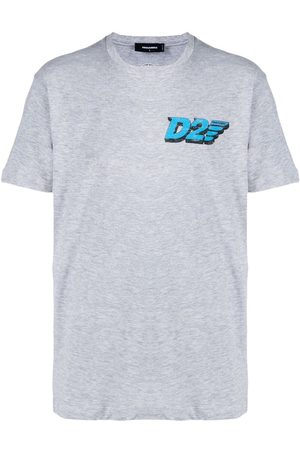 Dsquared2 Graphic-print short-sleeve T-shirt - Grey