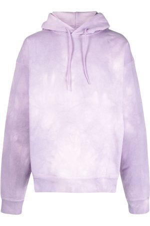 MARTINE ROSE Tie dye-print cotton hoodie