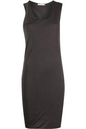 JOHN ELLIOTT Twist muscle mini dress - Grey