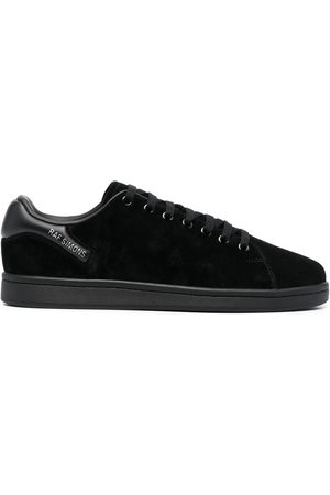 RAF SIMONS Padded heel counter lace-up sneakers
