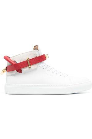 BUSCEMI Colour-block high top sneakers