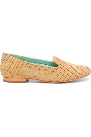 Blue Bird Women Slippers - Perforated design slippers - Neutrals