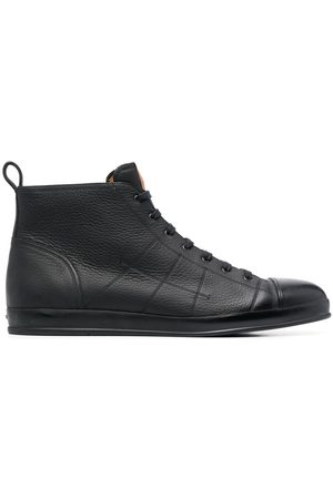 Bally Condros leather high-top trainers