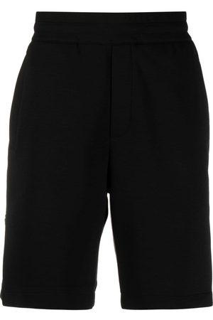 Emporio Armani Logo-embroidered track shorts