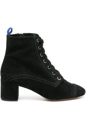 Blue Bird Lace-up leather boots