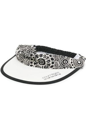 10 CORSO COMO X Courrèges open visor hat